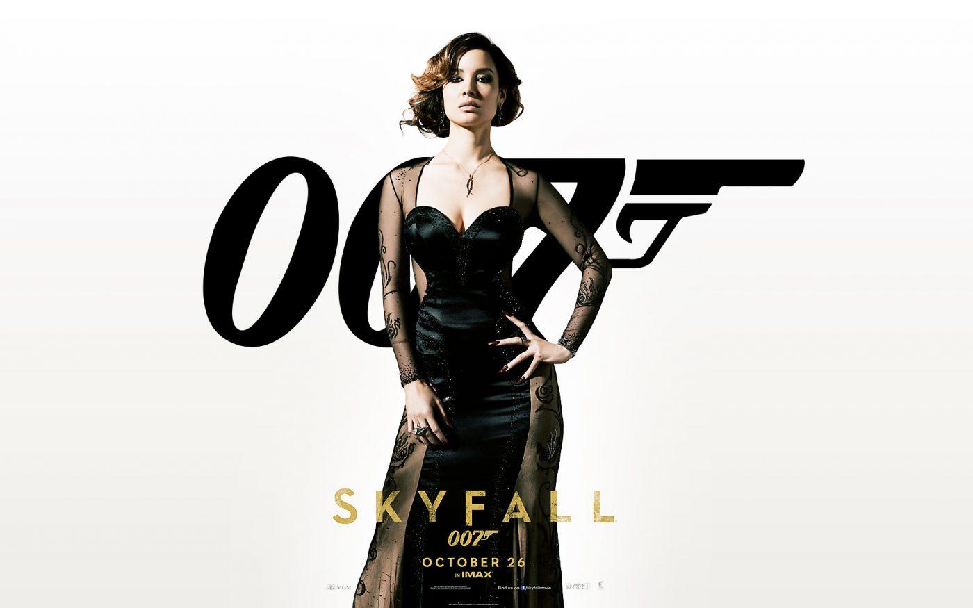 Berenice Marlohe Skyfall Dress GET THE SKYFALL LOOK HOW TO
