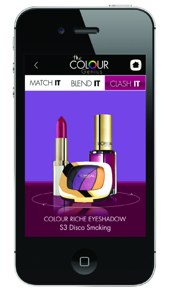 Colour Genius iPhone application