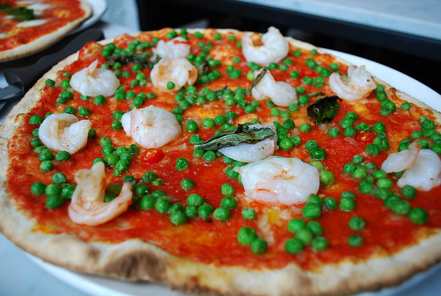 Ladro Gamberi Pizza