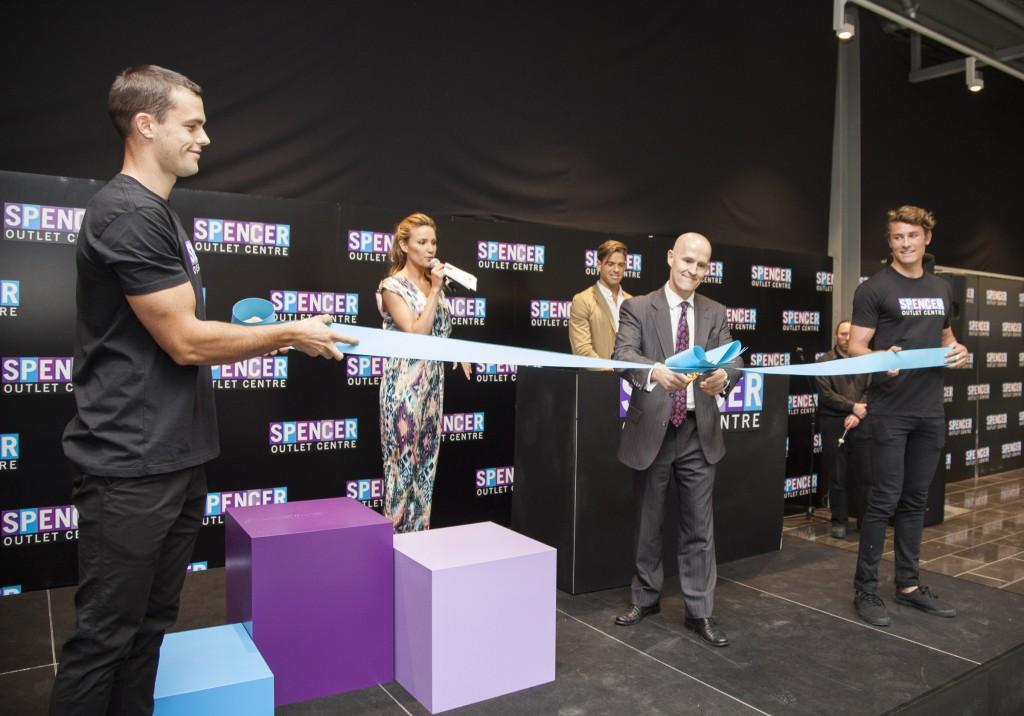 Official Ribbon Cutting with Robert Taylor of Balmain