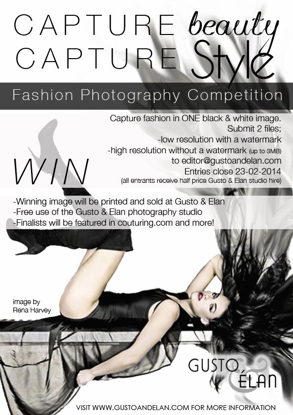 Capture Beauty Capture Style 2014 flyer