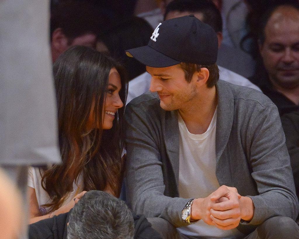 Mila-Kunis-Ashton-Kutcher-stayed-close-Lakers-game-LA