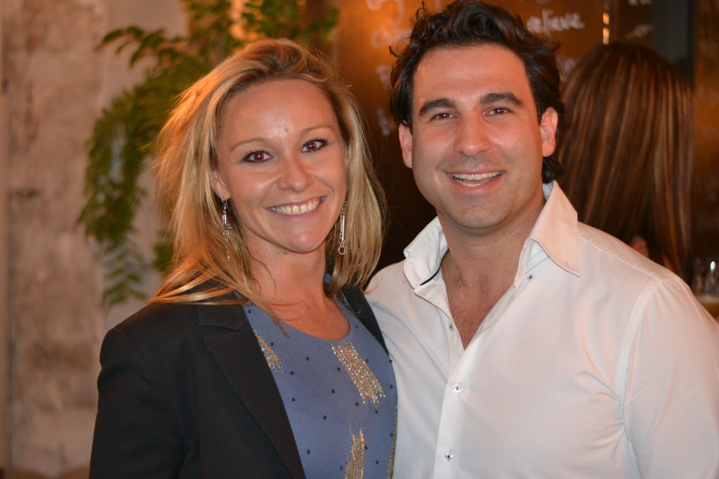 Co-owner's of Feast of Merit - Elena Critchley and Alby Tomassi