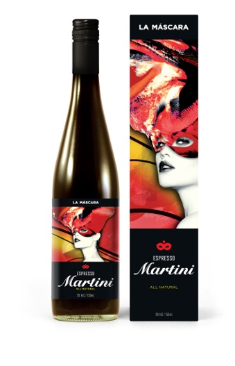La Máscara_Martini Bottle&Box_FA01