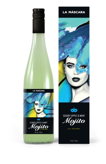 La Máscara_Mojito Bottle&Box_FA01