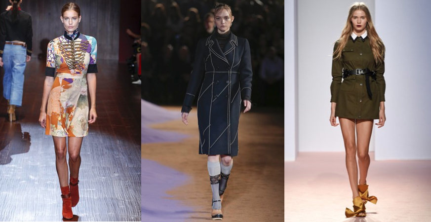 L to R: Gucci, Prada, No. 21