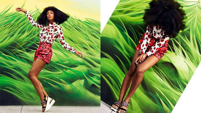 Solange-Knowles-Red
