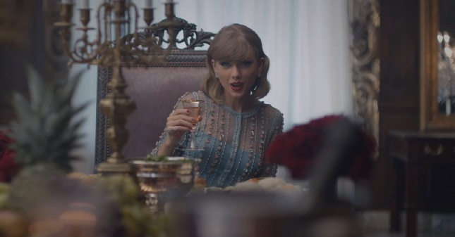 taylor-swift-blank-space-video-dress-blue-lace-2