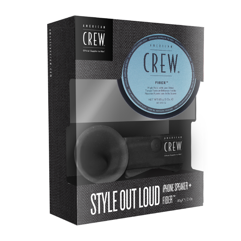 American Crew Style Out Loud set ($29.95). Available at salons stocking American Crew