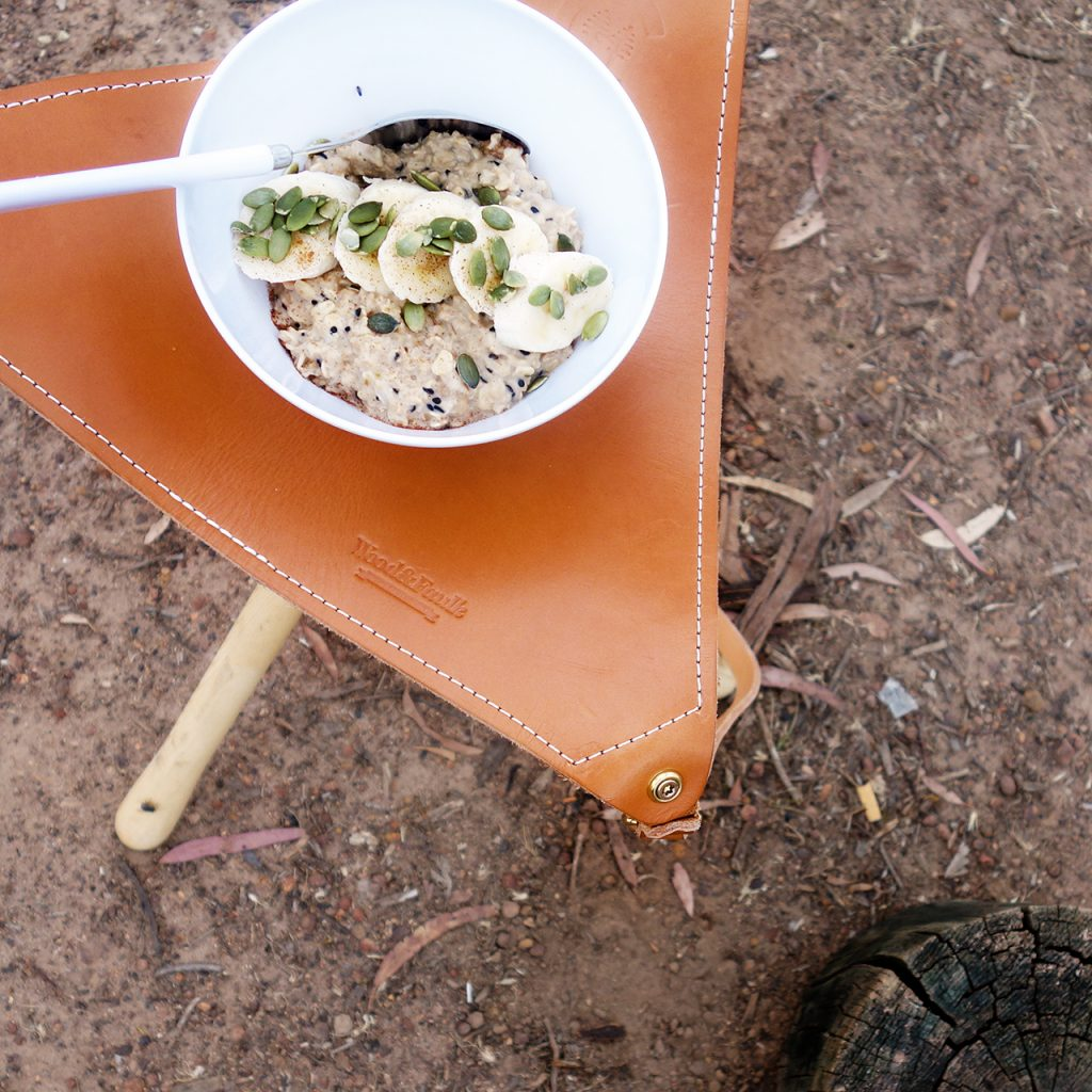 Chai Boy x Nutrition Darling - Whole food Chai Porridge chia seeds Homecamp