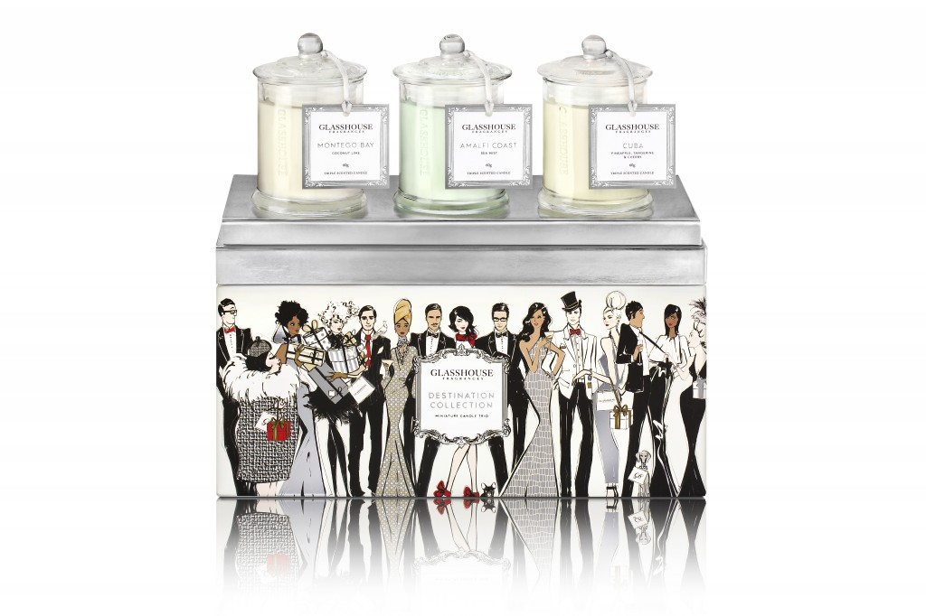 Glasshouse Fragrances Mini Trio Destination Collection 2014