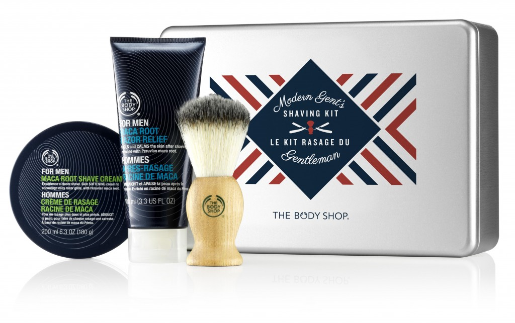 Modern Gent's Shaving Kit from The Body Shop ($49.95)