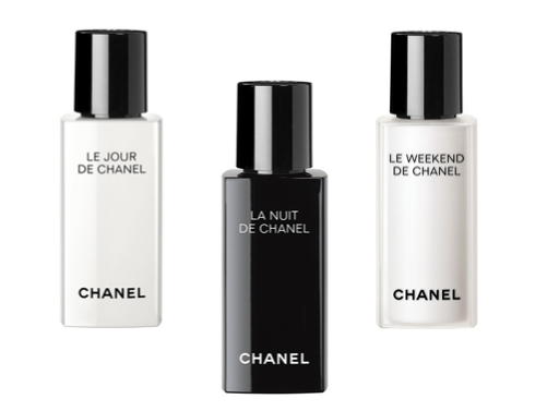 Chanel Day, Night, Weekend skincare range