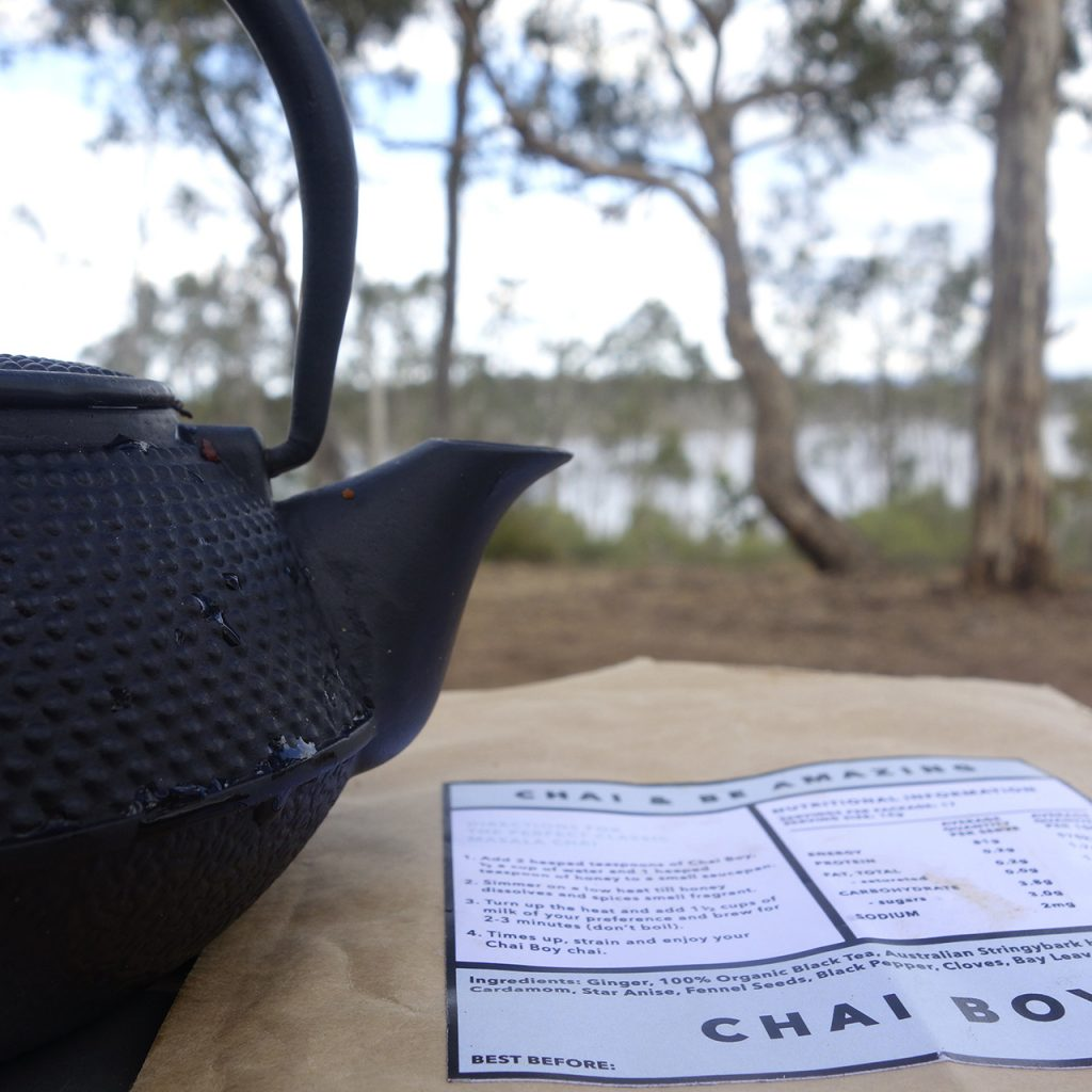 chai boy chai and be amazing glamping the grampians couturing the unimpossibles