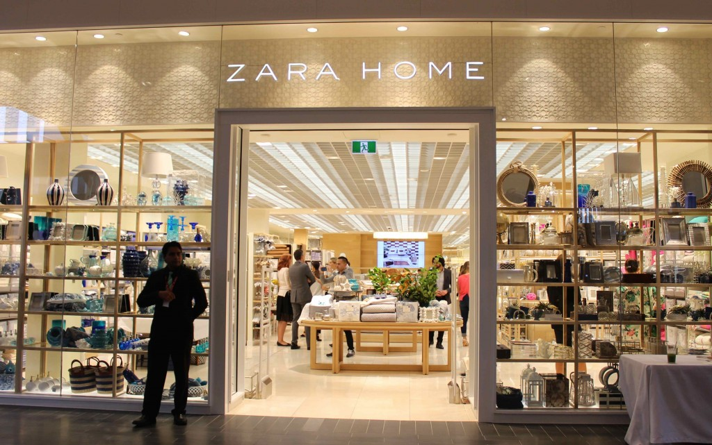 australia s first zara home opens at highpoint. Black Bedroom Furniture Sets. Home Design Ideas