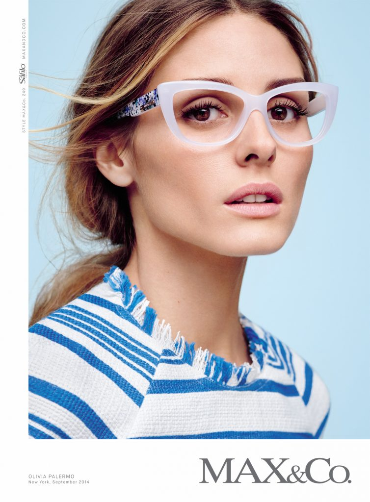 Olivia Palermo The New Face Of Max Amp Co Eyewear Couturing Com