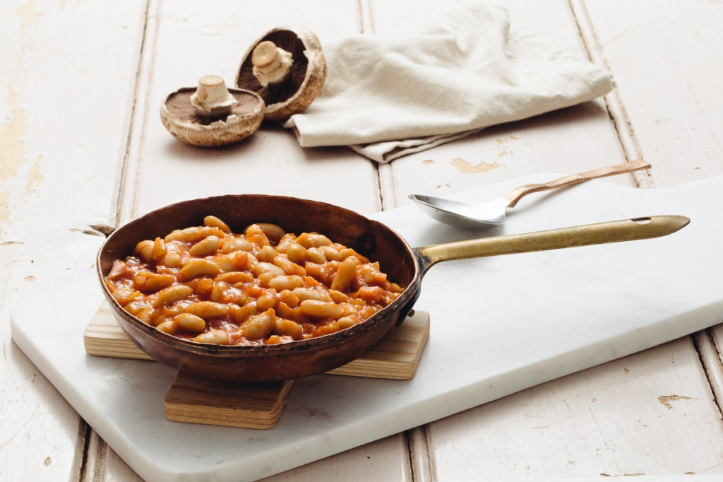 Boston Baked Bean with Mushroom and Sourdough_credit - Bright Young Things