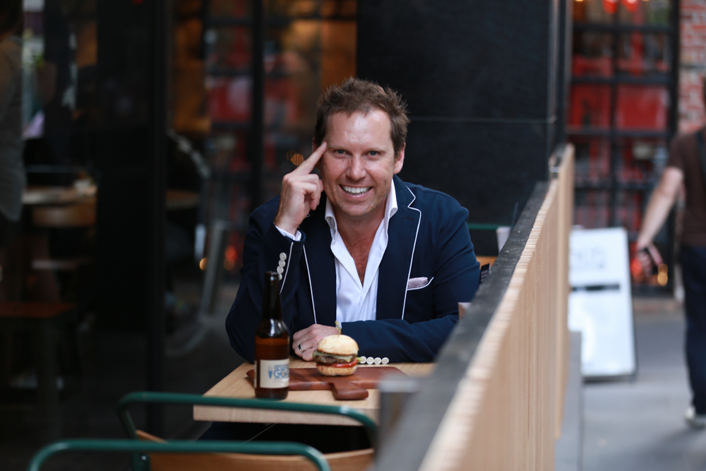 Grill'd founder and MD, Simon Crowe