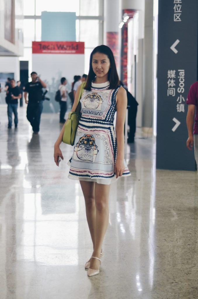 Street Style From Lenovo S Tech World Beijing Couturing Com