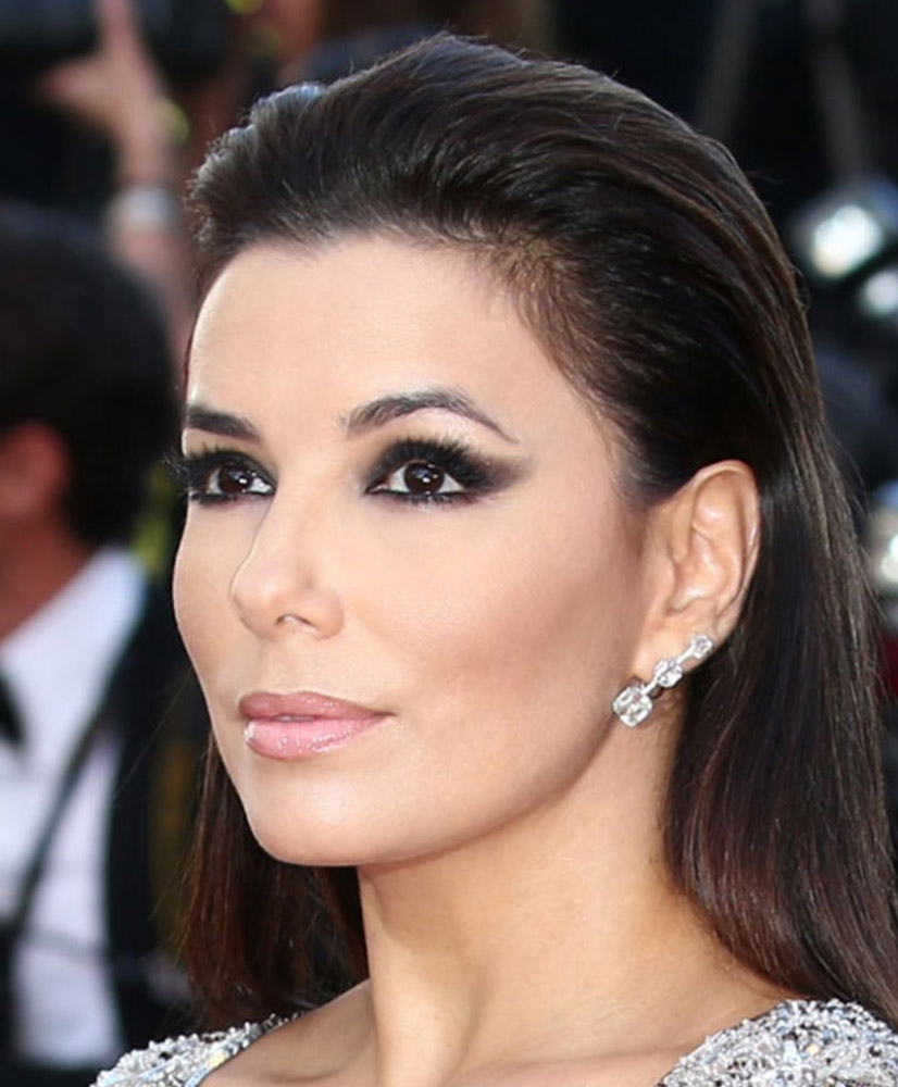 Eva-Longoria-Smokey-eye-makeup-cannes-2015