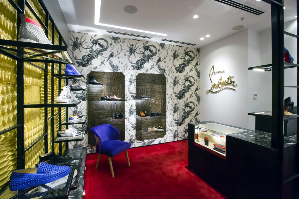 christian louboutin david jones bourke st