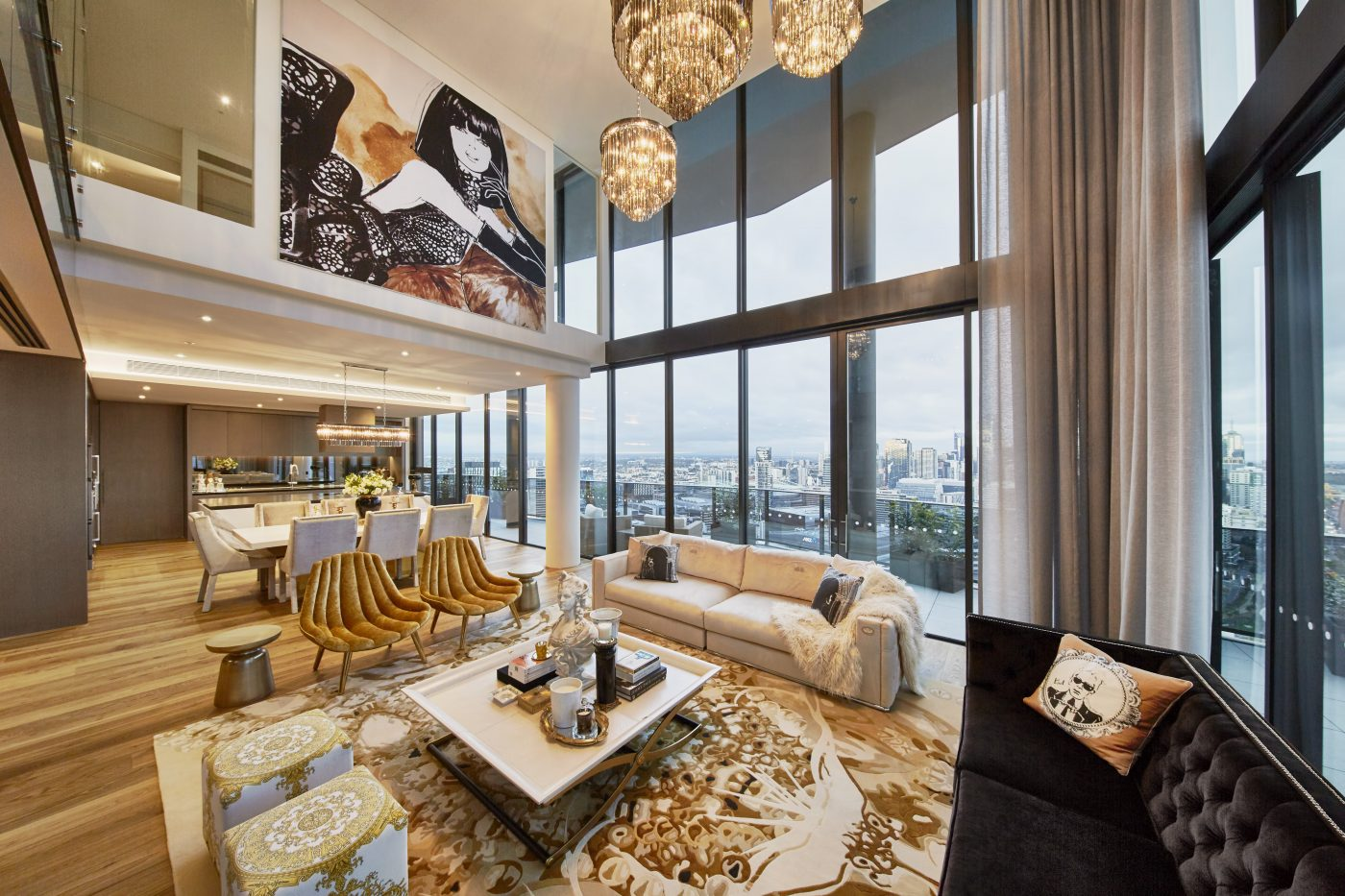 Array an unforgettable penthouse with exclusive megan for Apartment fashion