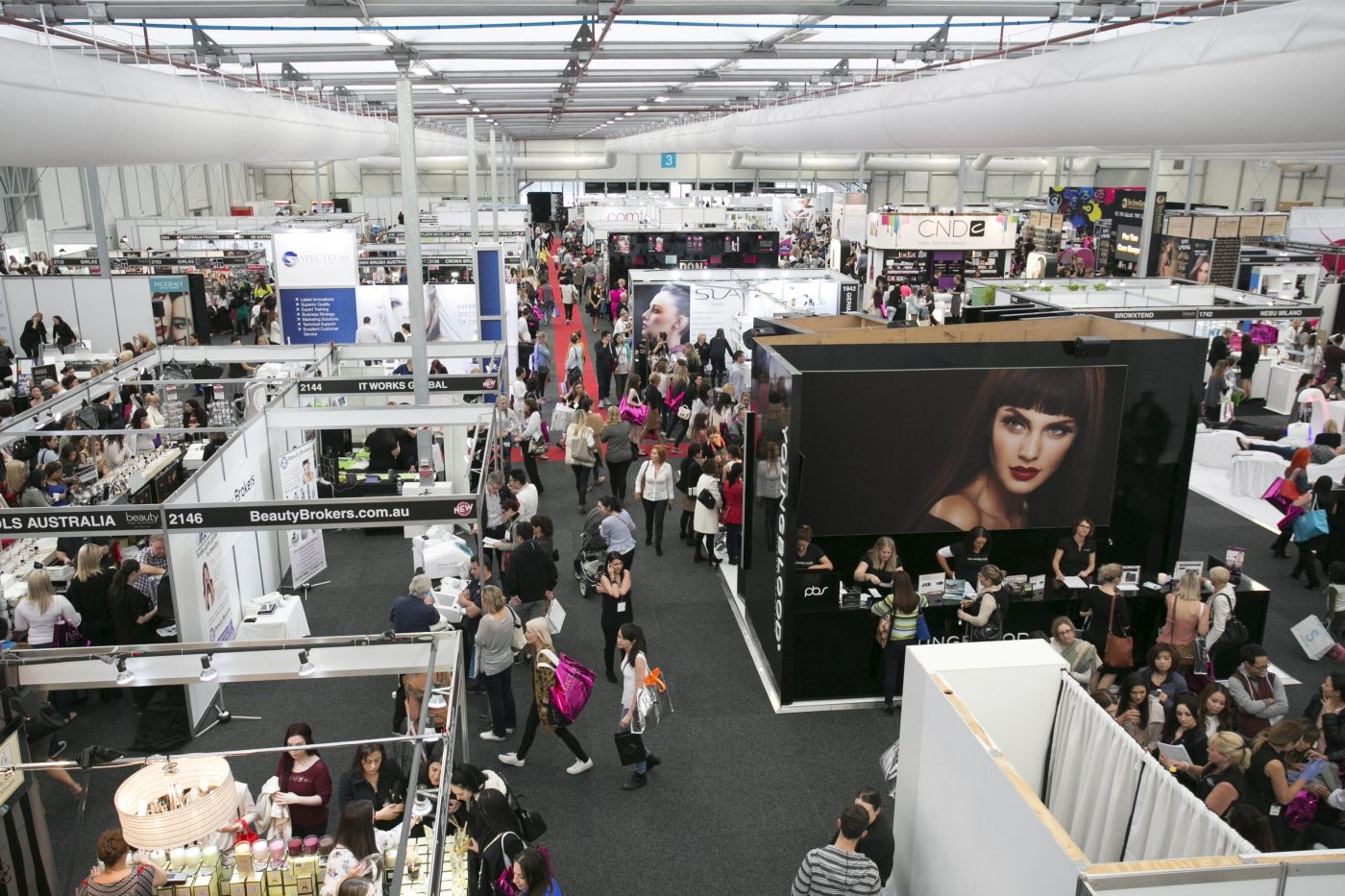 expo beauty australia sydney exhibition trade spot couturing fantastic pass years