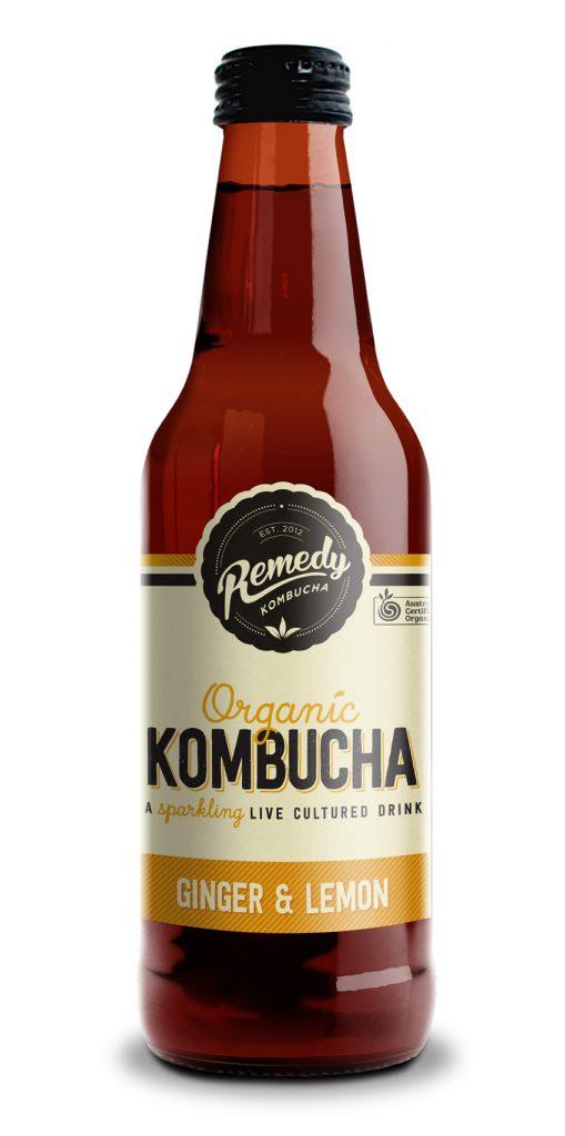 Remedy Kombucha_Ginger and Lemon_individual