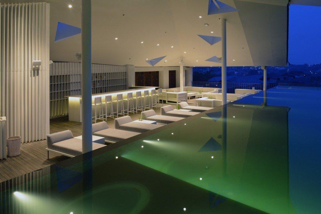 IZE Seminyak rooftop pool