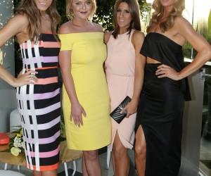 Rebecca Harding, Emma Clapham, Lana Wilkinson and Samantha Wills