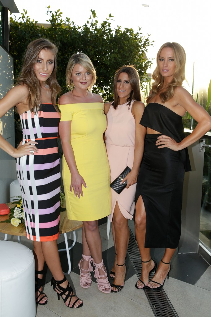 Rebecca Harding, Emma Clapham, Lana Wilkinson and Samantha Wills