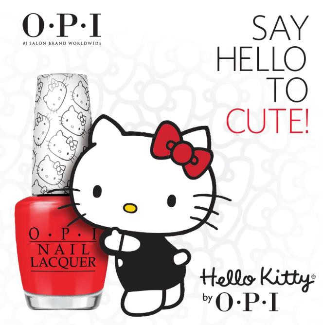 HELLO KITTY BY O.P.I