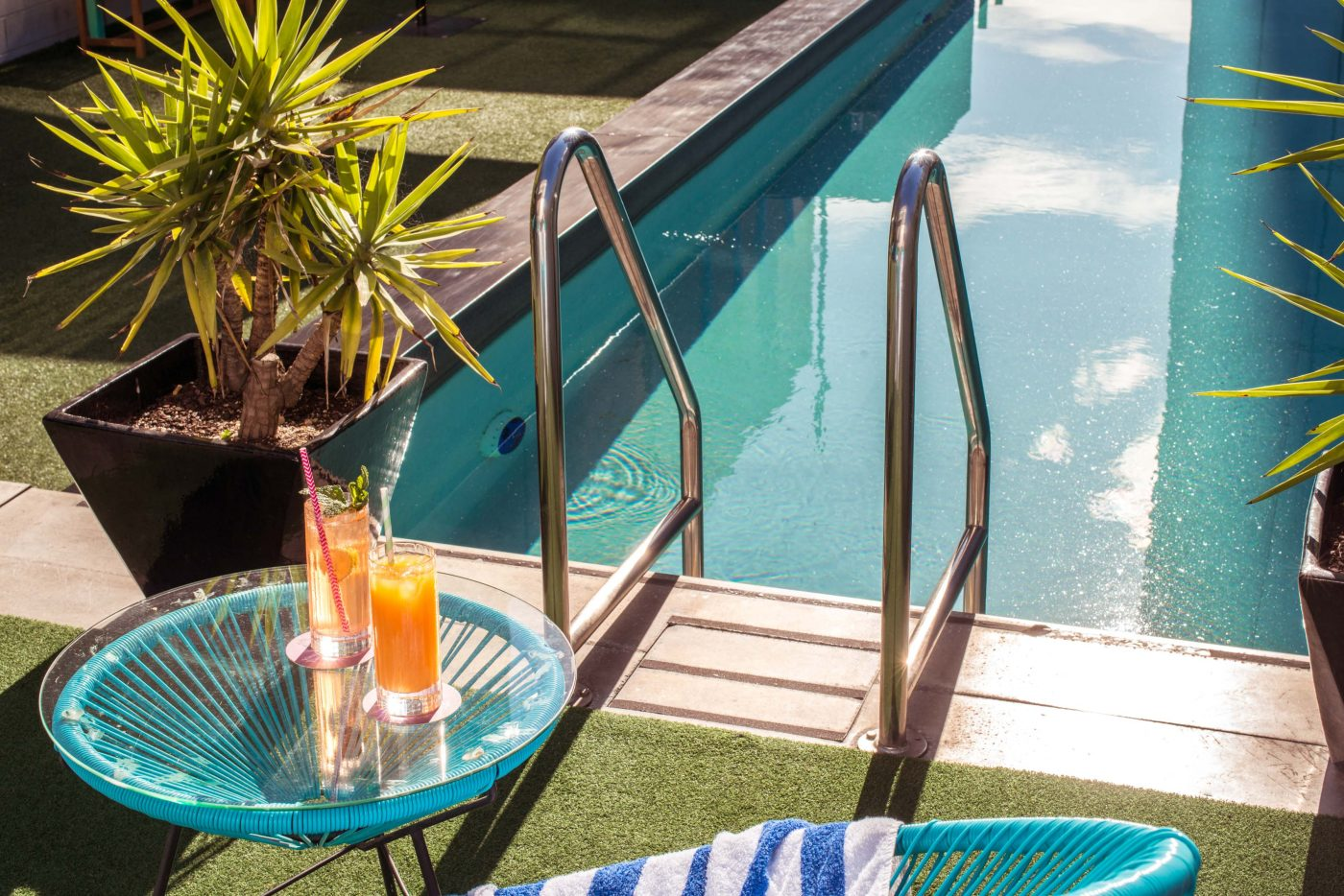 Splash into summer at the adelphi rooftop pool - Adelphi hotel melbourne swimming pool ...