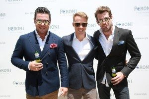Ben Mingay, Michael Dorman and Tim Ross