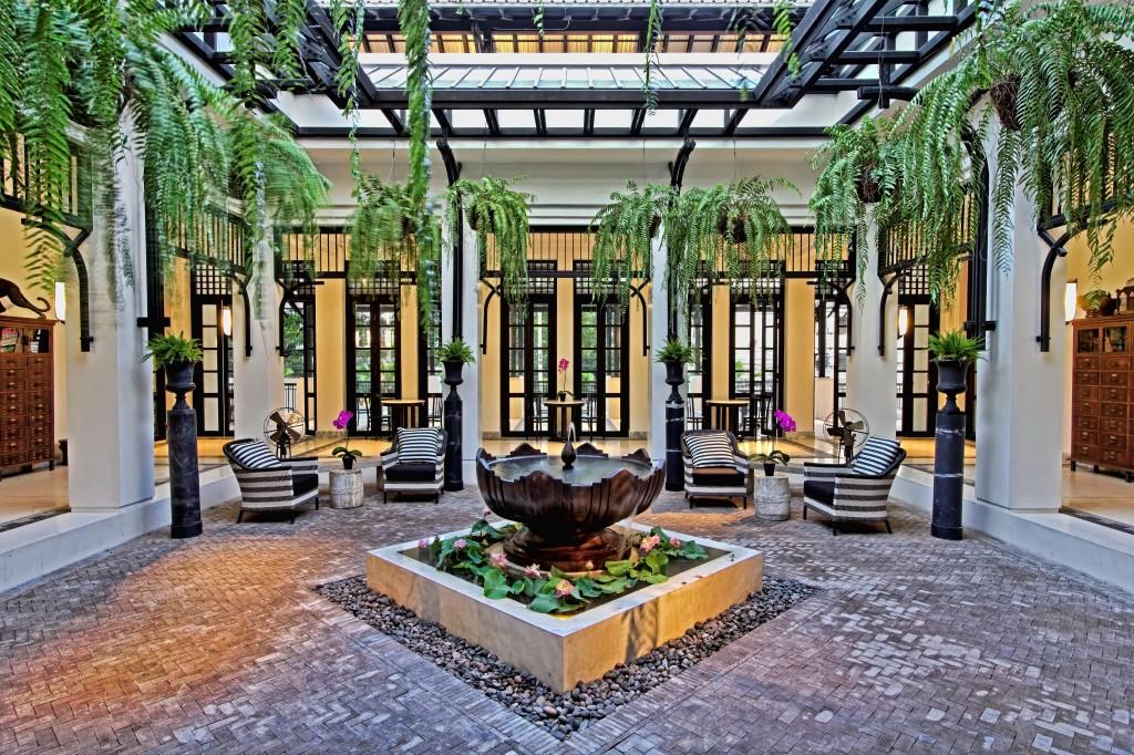 The Siam Lobby (dusk)