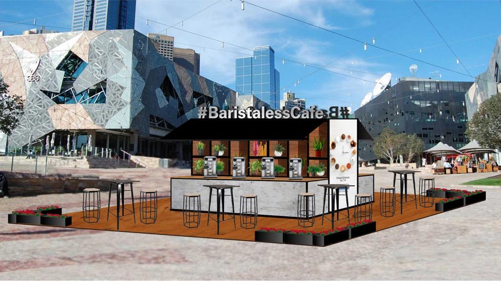 Barista-less Cafe