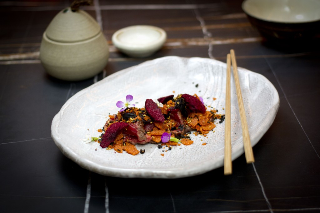 Saké Flinders Lane_Beef Tataki