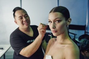 Bella Hadid x Nigel for Maybelline