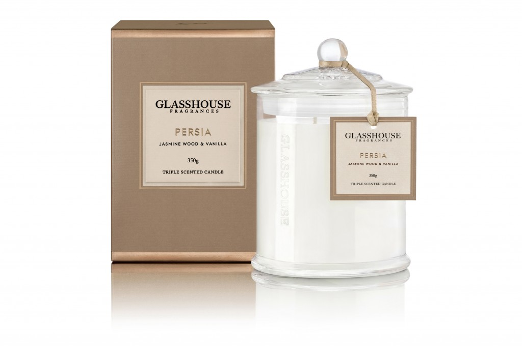 Glasshouse Fragrances 350g Candle Persia_$42.95