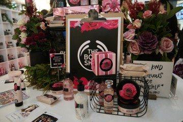 The Body Shop British Rose Launch by Ghadeer El-khub