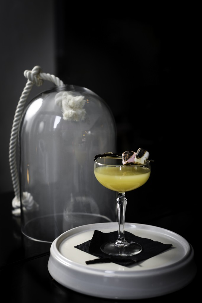 Smoking Marshmallow Martini 1