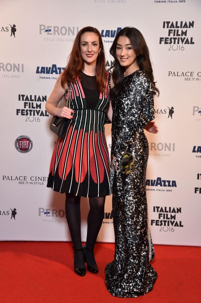 Italian Film Festival Director, Elysia Zeccola and Actress, Natasha Liu Bordizzo