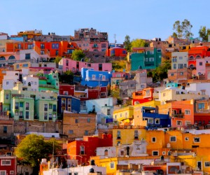 Casas de Guanajuato, Mexico