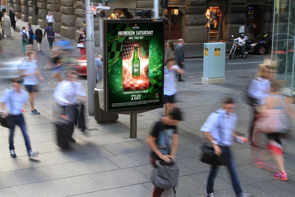 Heineken Interactive Panel