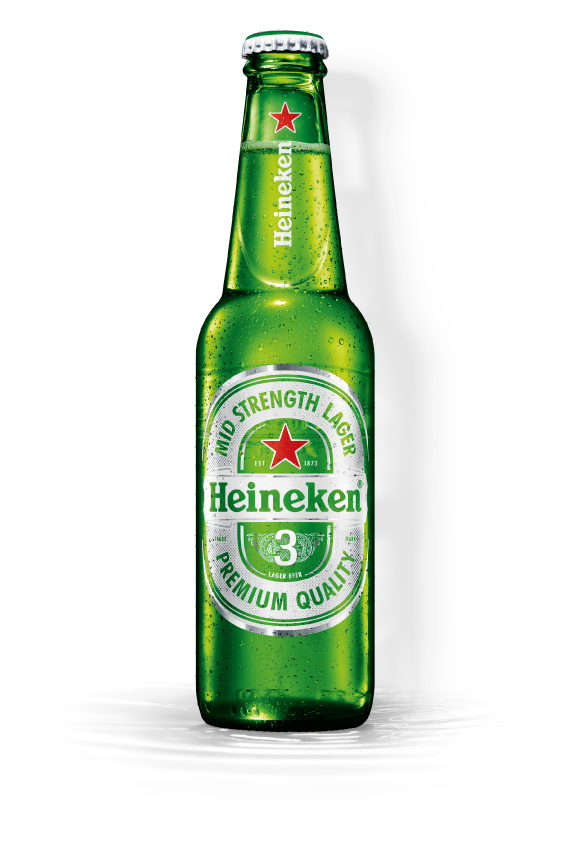 Heineken 3 - bottle