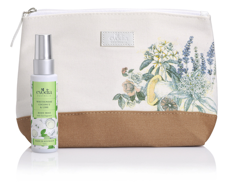 Evodia - Escape with Me - Whitsunday Coconut and Lime - RRP $14.95 - 1a