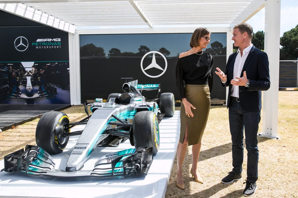 Mercedes Benz Roll Out The F1 Carpet For The Annual Ladies Day Lunch