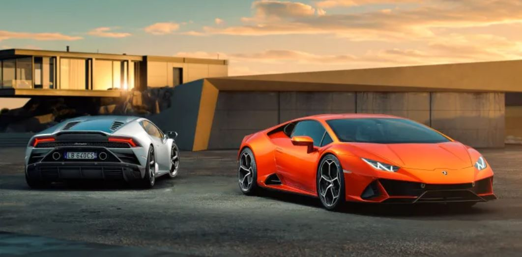 Celebrating The Launch Of The New Lamborghini Huracan Evo
